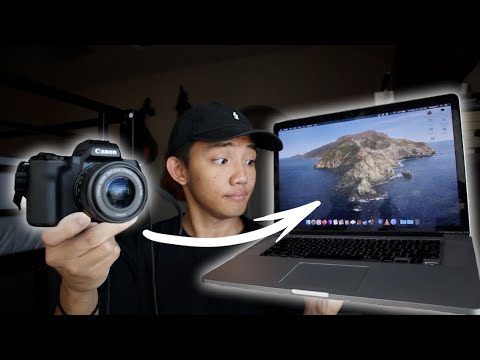 How to transfer photos from camera to computer   Canon EOS M50 Wifi File Transfer