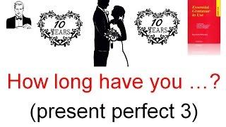 Время настоящее перфектное