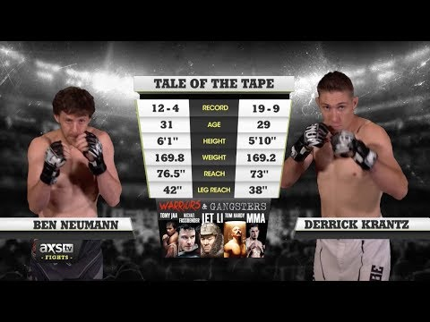 Fight of the Week: Derrick Krantz & Ben Neumann Battle for the Welterweight Title