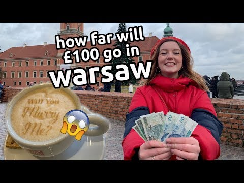 how expensive is a weekend in warsaw? | cheap european city break | vlog