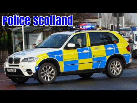 Used Cars Scotland >> Police car responding - Scottish Police BMW X5 Traffic Car - YouTube
