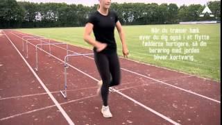 Koordination og bevægelighed - øvelser med hæk fra A-Sport