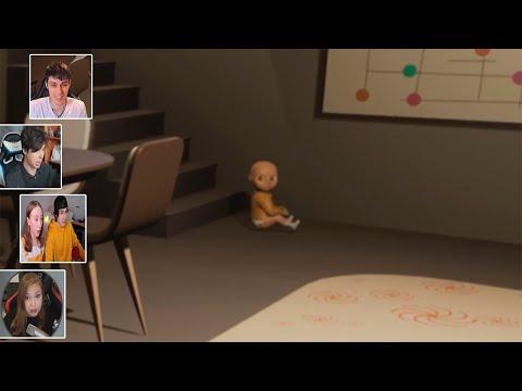 Реакция Летсплейщиков на Телепортацию Ребёнка в The Baby In Yellow