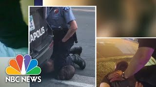 Minneapolis Officer Used Widely Criticized Move To Restrain George Floyd | NBC Nightly News