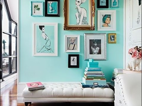 Decoracin en color turquesa  Turquoise decor inspiration