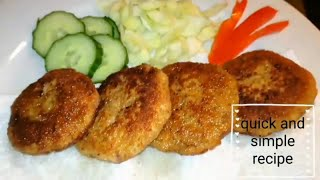 4 ingredients Chicken Nuggets recipe @ samee cooking recipes