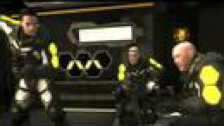 Haze PS3 Game Intro - Mantel Landcarrier