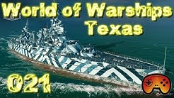 Die Texas vorgestellt - World of Warships - Premium Schlachtschiff- Review - Wows - Gameplay
