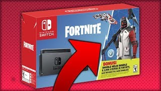 NINTENDO SWITCH WILL HAVE ALL THESE EXCLUSIVE SKINS... FORTNITE 🔥DollarGames🔥