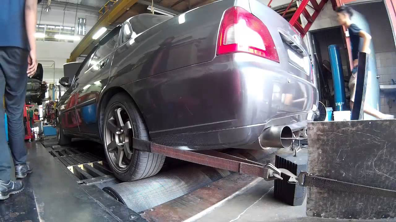 Proton Waja Dyno Run After Ecu Reflash