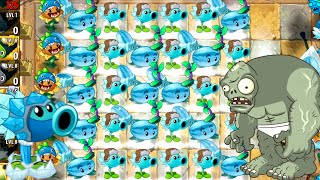 Plants vs Zombies 2 Endless in Ancient Egypt -Winter is coming PVZ 2 (All Winter Plants)