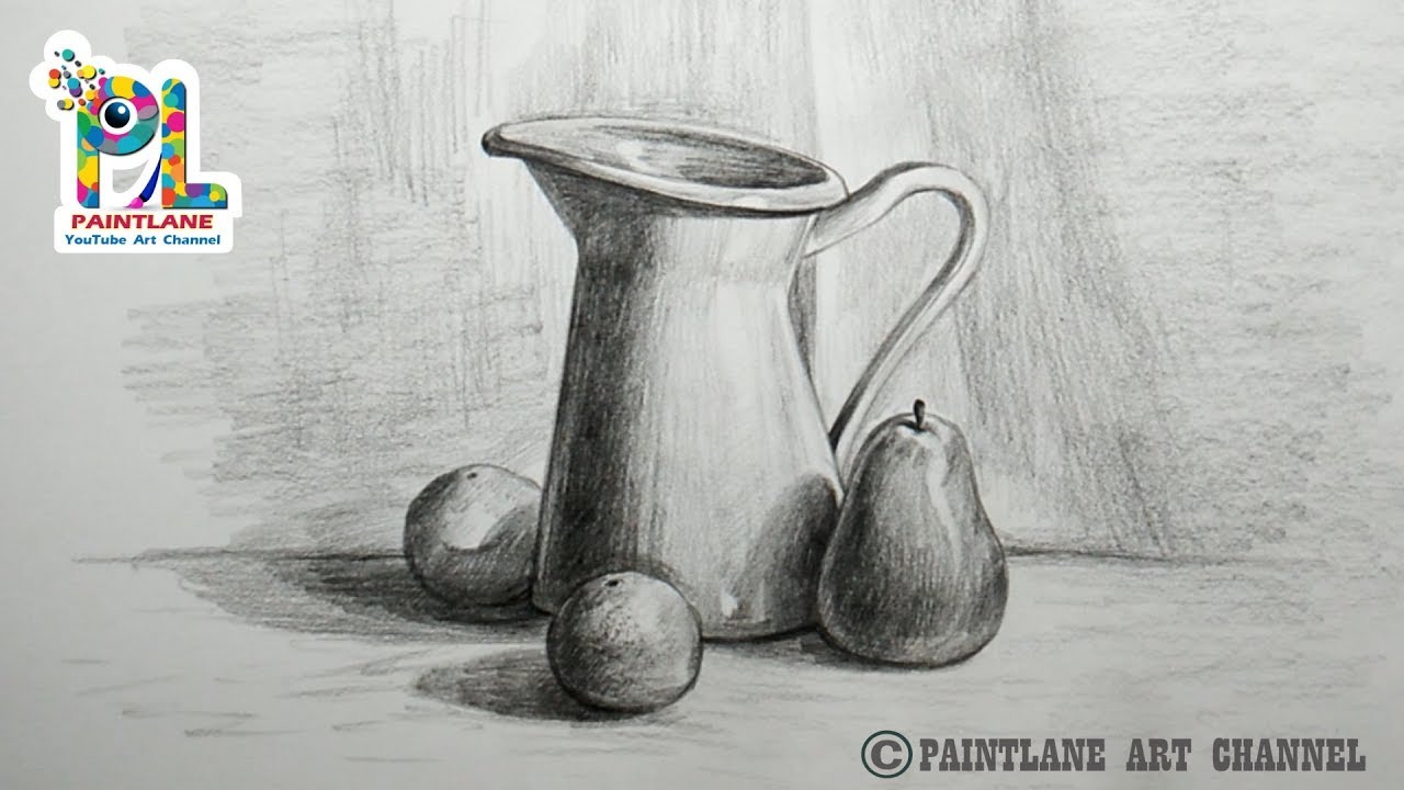 How to draw still life with pencil pencil art drawing shading