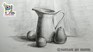 How To Draw Still Life With Pencil |  Pencil Art | Drawing | Shading