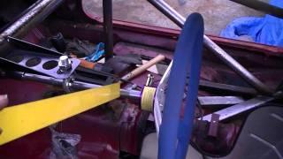 Seat, Steering And Window Post - Building A Pure Stock Race Car