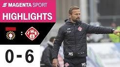 SG Sonnenhof Großaspach - FC Würzburger Kickers | Spieltag 22, 19/20 | MAGENTA SPORT