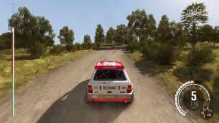 Dirt Rally Lancia Delta HF Integrale in Germany