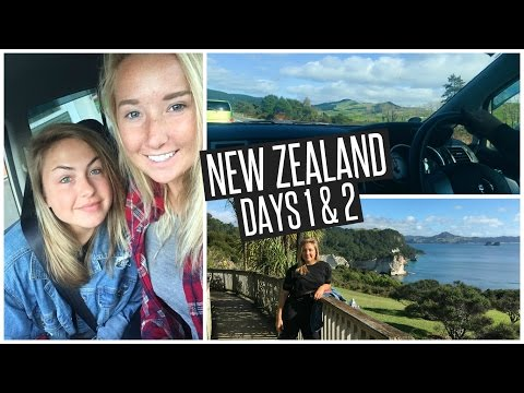 NEW ZEALAND DAYS 1 & 2 // Flying First Class & Risking Our Lives