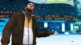 GTA 4 - Snow in Liberty City [Mod Showcase]