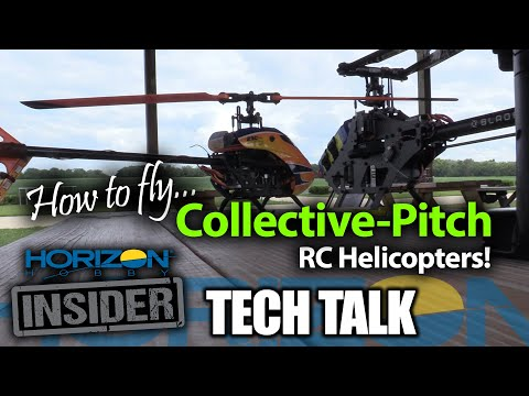 Horizon Insider Tech Talk: How To Fly Collective-Pitch RC Helicopters