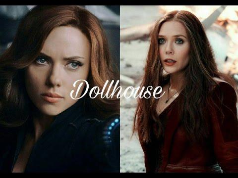 Natasha + Wanda//Dollhouse (Happy Halloween)