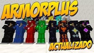 ARMORPLUS(Actualizacion): Mod De Muchas Armaduras - Minecraft Mod 1.10.2/1.9.4/1.9/1.8.9/1.8