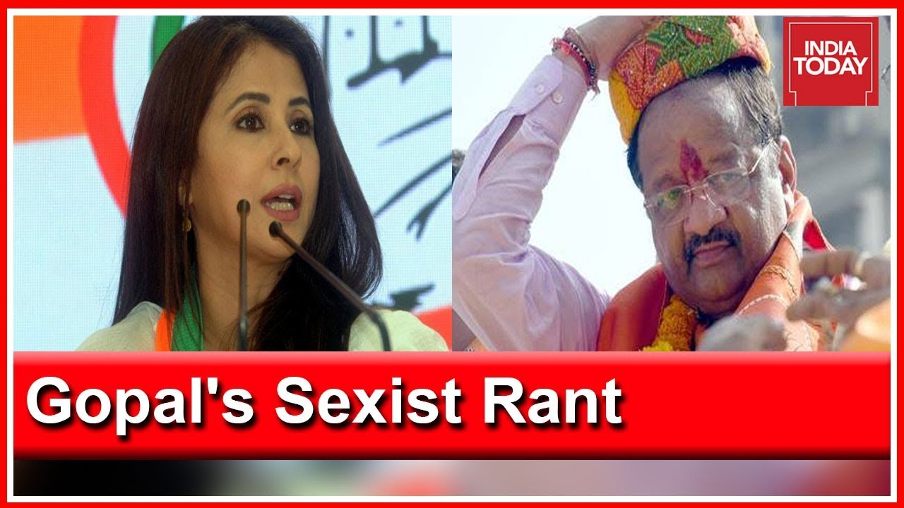 Urmila's Political Opponent From BJP Gopal Shetty Indulges In Sexist Rant