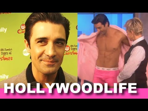Gilles Marini Talks Going Shirtless On Ellen, His Worst Gift Ever