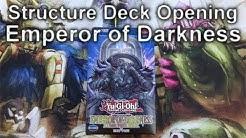 YuGiOh Structure Deck EMPEROR OF DARKNESS Opening (4K)