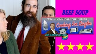 Funny Cooking Show   Cooking For Singles: Beef Bouillon Soup [Ep2]