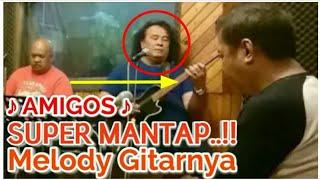 Ngeeriiii..Vico Pangaribuan Memainkan Melodi Gitarnya..!! AUT BOI NIAN - AMIGIOS feat Hendro Butar²