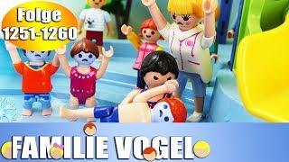 Playmobil Filme Familie Vogel: Folge 1251-1260 | Kinderserie | Videosammlung Compilation Deutsch