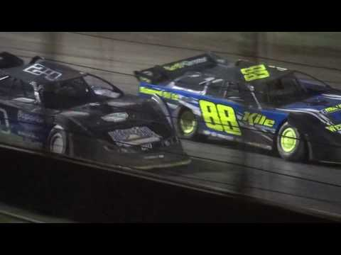 21st Annual Liberty 100 IMCA Late Model feature West Liberty Raceway 9/23/17