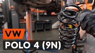 Como substituir molas de suspensão traseira noVW POLO 4 (9N) [TUTORIAL AUTODOC]