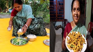 Bhindi Kurkuri / How to Make Crispy Bhindi Recepi / Okra or Bhindi Fry.