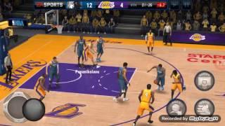 VLOG#2 MAIN..... NBA LIVE MOBILE