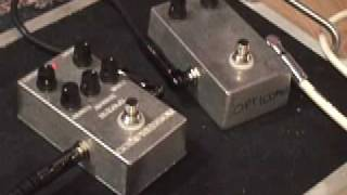 Byoc Build Your Own Clone Phaser & 5 Knob & Opti Compressor Guitar Effects Pedal Demo