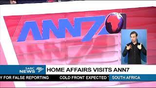 Home Affairs DG explains ANN7 raid