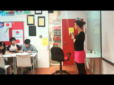 British Council - General English Courses - Pronunciation Segment