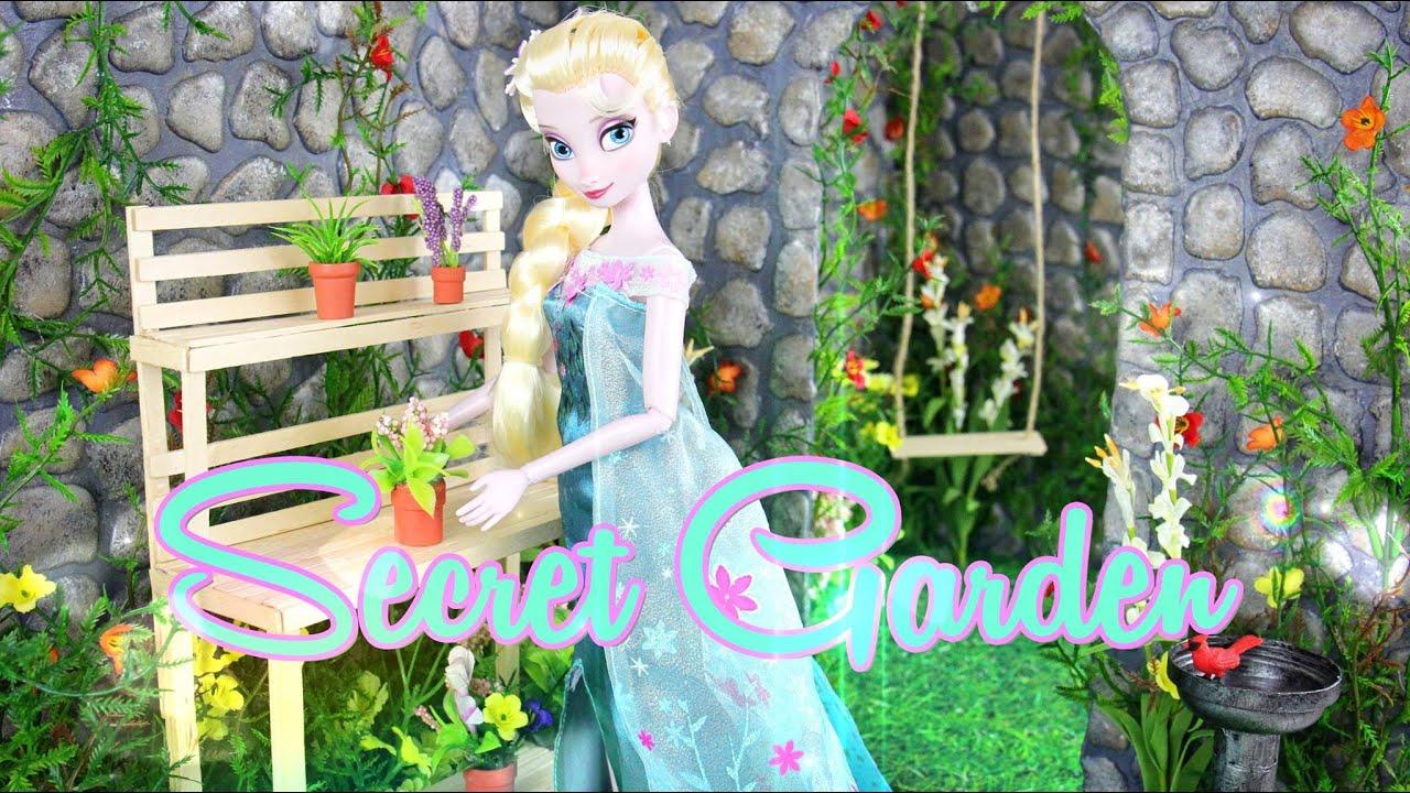 DIY   How To Make: Doll Secret Garden   Handmade   Doll   Crafts   YouTube