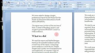 Wie Erstellen Sie Druckbare Broschüren in Microsoft Word 2007 & 2010 Schritt für Schritt Anleitung