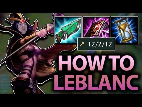 IS THERE ANY BETTER ASSASSIN THAN LEBLANC? LEBLANC MID SEASON 7 GUIDE - League of Legends