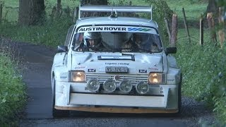 mg metro 6r4 group b pure sound austin rover at rallye du chablais 2014
