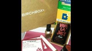 November 2013 Birchbox Unboxing Thumbnail