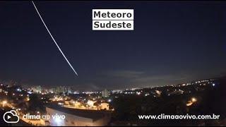 6 Câmeras registraram meteoro em MG, SP e RJ - 06/04/21