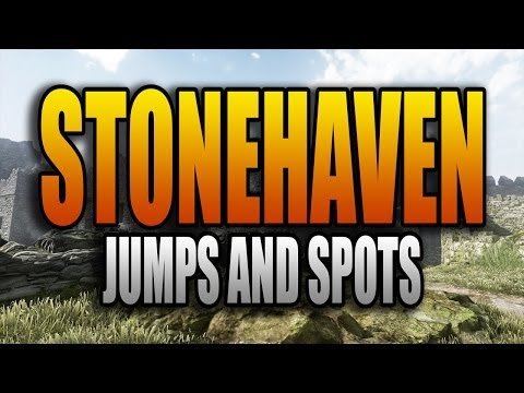 Ghosts Jumps and Spots - Stonehaven (Call of Duty: Ghost Secret Jump Spots Episode 12)