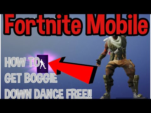 How To Get Boogie Down Dance IN Fortnite MOBILE