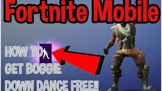 Comment obtenir Boogie Down Dance IN Fortnite MOBILE