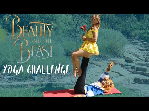 Thumbnail: EXTREME YOGA Challenge BEAUTY & THE BEAST!