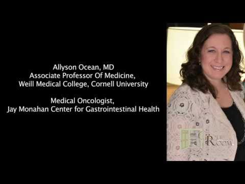 Allyson Ocean, MD:  Pancreas Cancer and the BRCA Gene