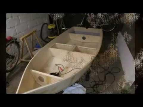 Как сделать лодку из фанеры своими руками чертежи и описание видео